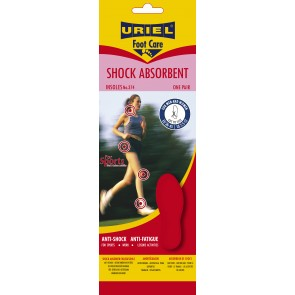 Uriel SHOCK ABSORBENT -vaimentavat pohjalliset (leikattava) [374]